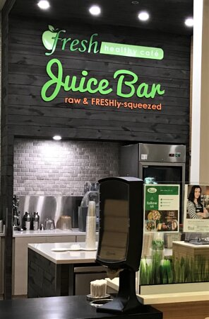 Erie, PA: Our Fresh Healthy Juice Bar is open daily.  If you do not enjoy eating fruits and vegetables, juicing may be a way to add them to your diet or to try fruits and vegetables you might not eat. Create your own combination. Tells us what your craving and we will do the rest. Drinking fresh juices can detoxify the body, help to create a more alkaline body, and to give a boost of energy and a clear mind.