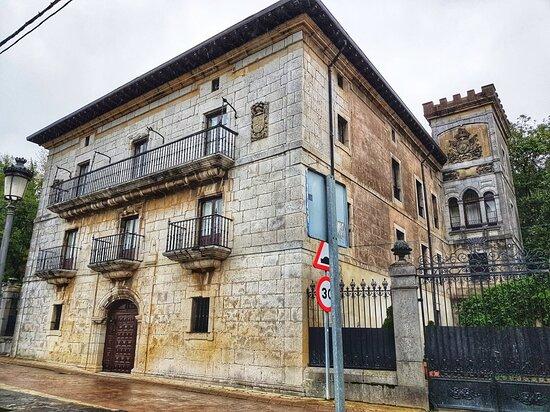 Old buildings in Limpias