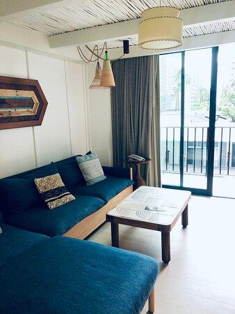 1 bedroom suite.