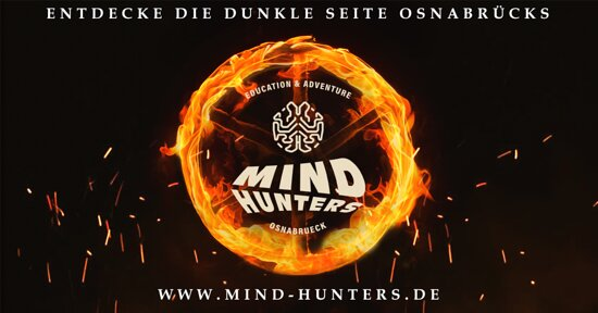 Mindhunters Osnabrück - Education & Adventure Dein neuer Escape Room in Osnabrück!  Entdecke die dunkle Seite Osnabrücks!