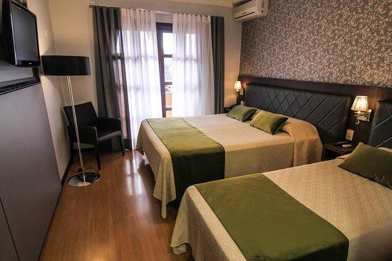 Apartamentos equipados e com todo o conforto.