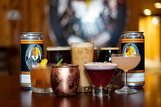 Hand crafter beer and specialty cocktails with a Norwegian twist.