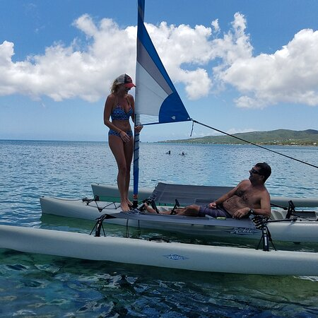 Frederiksted, St. Croix: Enjoy a relaxing kayak cruise.