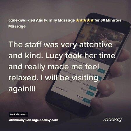 Alia Family Massage Call:407-985-1996