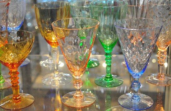 Lovely glass ware.
