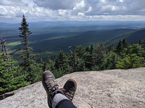 Notre-Dame-des-Bois, Canada: Randonnée au Parc du Mont-Mégantic