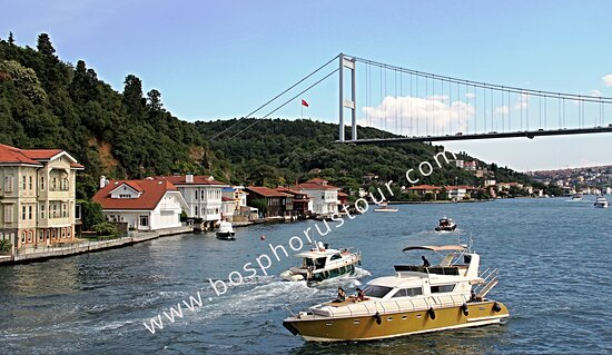 SMALL GROUP & PRIVATE CHARTER BOAT TOURS IN ISTANBUL Don't be another sardine on a crowded tour boat—see the sights from the deck of your own private boat with Bosphorus Tour Istanbul. We'll give you an intimate, one-of-a-kind view of Istanbul and its tranquil waterways and iconic sights, including Dolmabahce Palace, Rumeli Fortress, Maiden's Tower, and downtown's skyline, and the lesser-known but equally stunning vistas offered by Istanbul's famed strait, the Bosphorus. www.bosphorustour.com