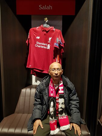 Merchandise store in anfield