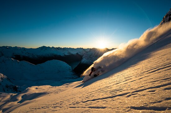 Hellesylt, Norge: Skiing in Sunnmøre.