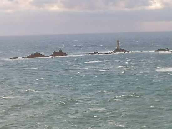 Longships Lighthouse from the room