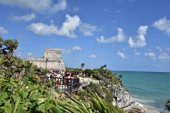 Tour 4 plasser i 1 VIP - Tulum, Cenote...