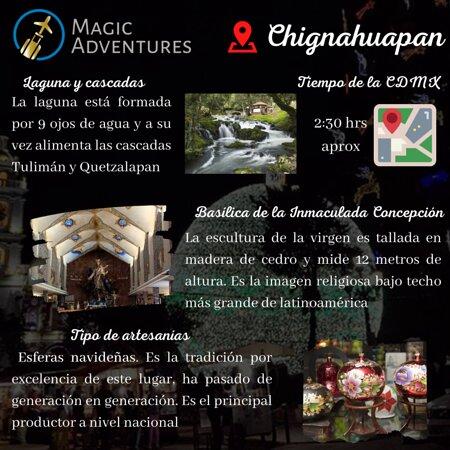 Chignahuapan, Mexico: Acompáñennos el 12 de diciembre a vivir la experiencia de estos tres mágicos lugares 😍 ¡NO SE LO PIERDAN!