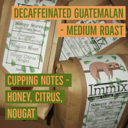 Decaf Guatemalan beans for sale.