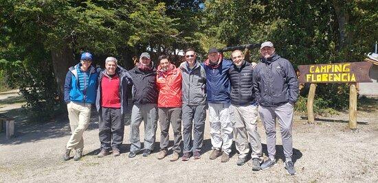 Visita camping Bandurrias