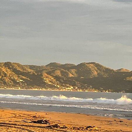 La Manzanilla, מקסיקו: Great evening sunsets on the beach