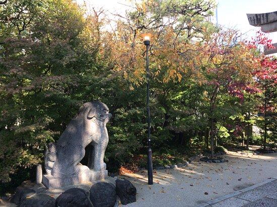 晴明神社の敷地内です。