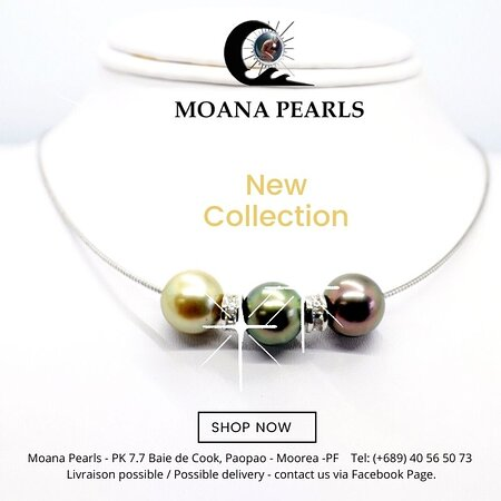 Moana Pearls Moorea - French Polynesia  Order on our Facebook Page  #MoanaPearls or contact us by email:  maringland@mail.pf