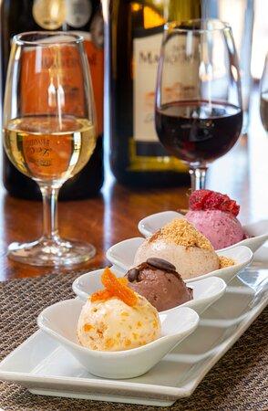 Ice-Cream & Wine Pairing