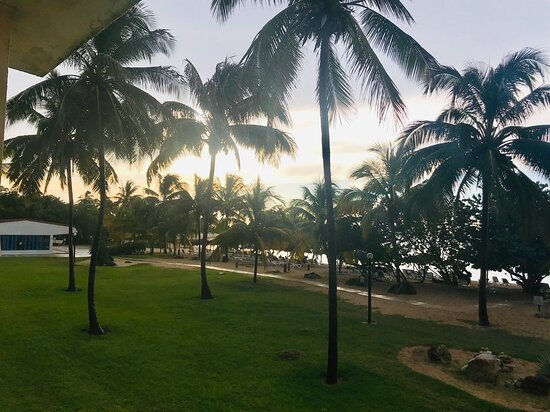 View from Oceanview room - July 2019