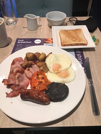Breakfast cooked to order