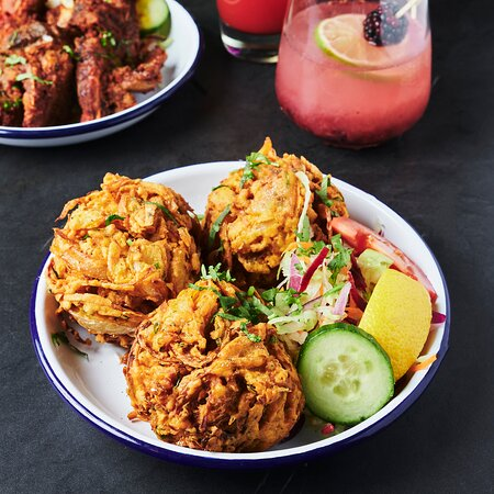 Our famous onion bhaji
