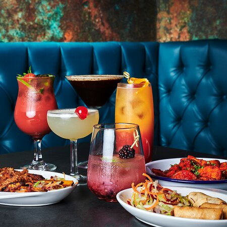 Our extensive cocktail menu with bar bites