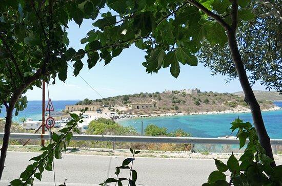 Ausblick vom Restaurant auf die Ali Pascha Festung