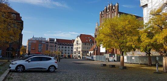 Deutschland, Rathaus der Stadt Frankfurt (Oder) (Oktober 2020)