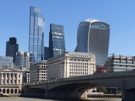 London Bridge & the views beyond it.