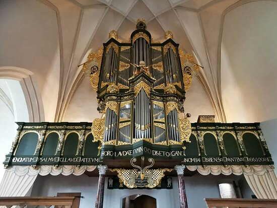 Loppersum, Hà Lan: the organ