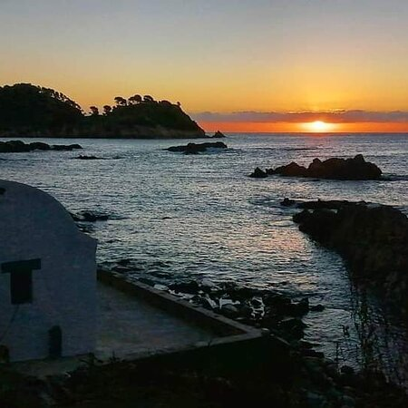 Provincia Girona, Španielsko: Salida del sol espectacular