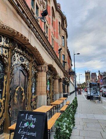 The Liffey Pub in Ropewalks District.