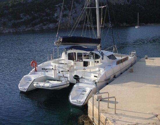 Catamaran confortable