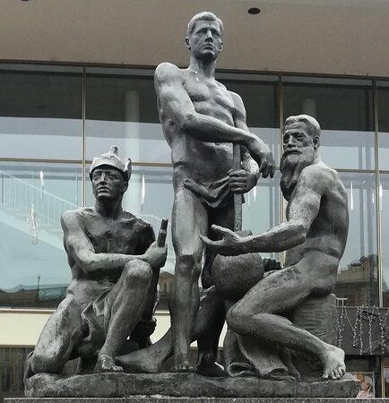 Oktyabr  Sculptural Group