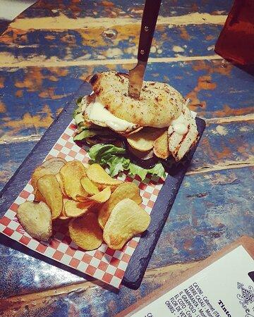 Chicken burger PepiVintage