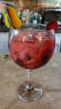 Gin Tônica Tanqueray Frutas Vermelhas!