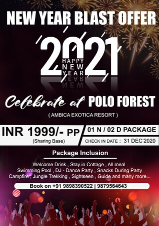 Celebrate New year at polo forest