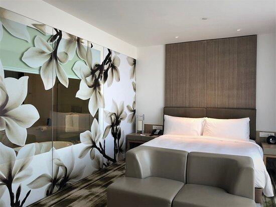 Flower motif in the room