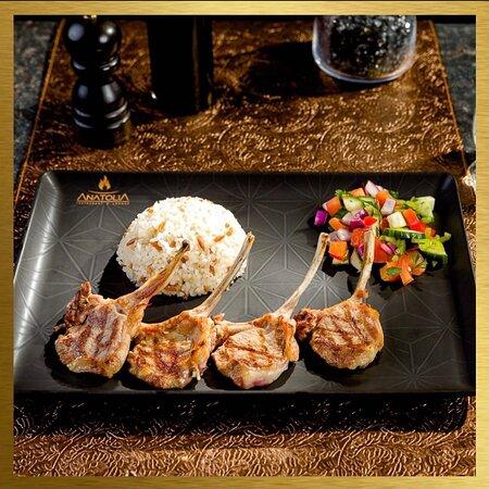 Kuzu Pirzola- grillowane żeberka jagnięce🤩 Idealne danie na obiad/kolacje!