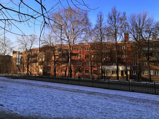 Вид на объект с улицы Мархлевского