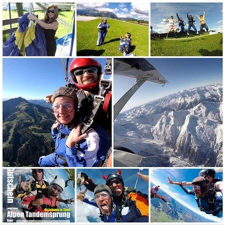 Bestskydive Tirol Tandemskydive St Johann Tirol