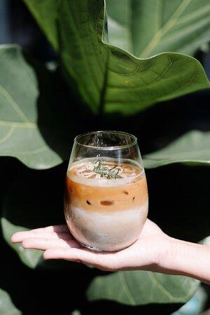 Ice cafe'latte