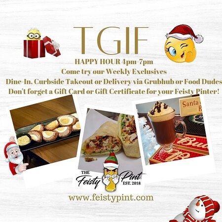 #yum #yummyfood https://www.toasttab.com/feisty-pint #happyhour #food #hardciders #wine #whiskey