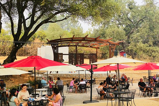 Plymouth, Californie: Com visit our Outdoor Tasting Area