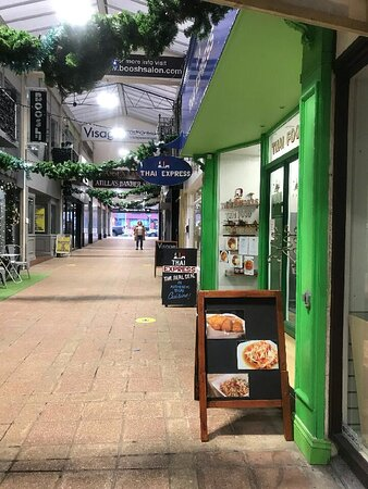 Thai Express is located in the historic Picton Arcade in Swansea.