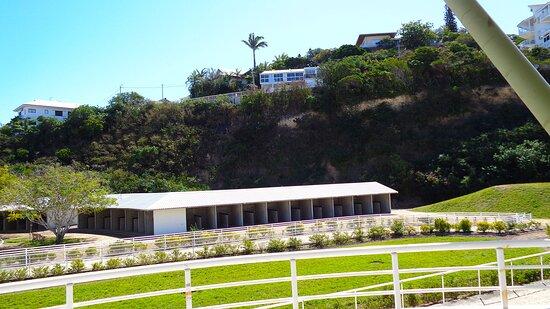 Noumea, New Caledonia: Horse stable - Hippodrome Henri Milliard - Nouméa City.