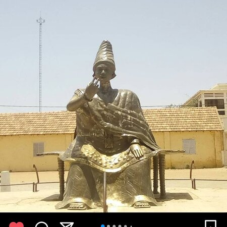 Saint-Louis, Senegal: Venez nombreux pour voir l'estatu de n'date yalla à dagana