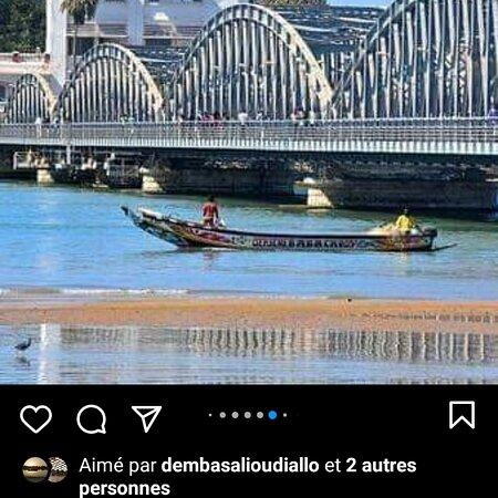 Saint-Louis, Senegal: Ville de saint louis du Sénégal la première capital du Sénégal et de la Mauritanie et l'aof