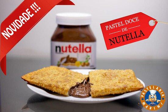 Descalvado, SP: Pastel de Nutella