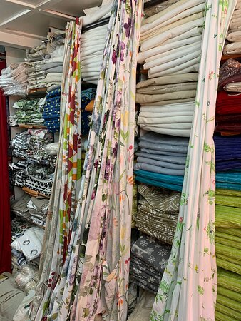 Lovely variety of Bed Linen, Quilts, Curtains, Carpets, Chocolates & essential oils